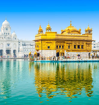 14nts, Tour of Sacred Amritsar, British Raj to Golden Triangle with Tigers